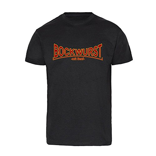 Bockwurst mit Senf T-Shirt (M)