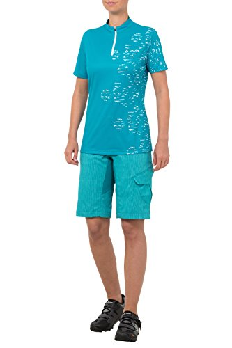 VAUDE t-shirt pour femme tremalzo women's t-shirt Turquoise - Alpine Lake