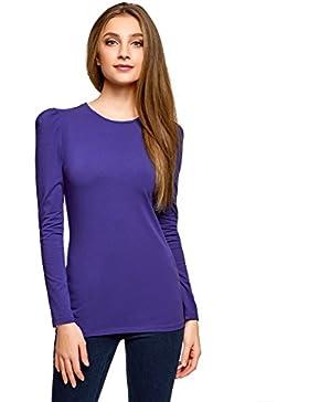 oodji Ultra Mujer Camiseta de Al