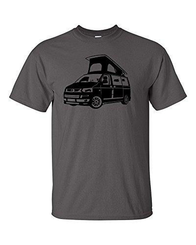 VW-Volkswagen-T5-Transporter-Campervan-Poptop-DubSporter-Premium-Mens-T-shirt