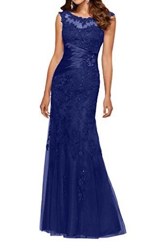 Victory Bridal - Robe - Crayon - Femme Bleu - Bleu roi