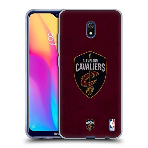Head Case Designs Offizielle NBA Zerstört Cleveland Cavaliers Soft Gel Huelle kompatibel mit Xiaomi Redmi 8A -