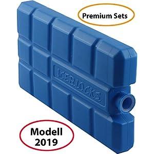 wns-emg-world Premium Sets Kühlakkus Kühlelemente für die Kühltasche Kühlbox jeweils 200 ml Modell 2019