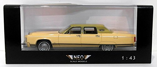 neo-1-43-scale-resin-neo44420-lincoln-continental-town-car-beige-green
