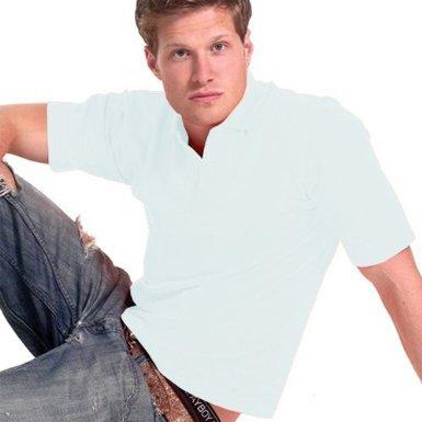 Uneek 220Gsm Unisex Classic Polo Shirt - White - Large