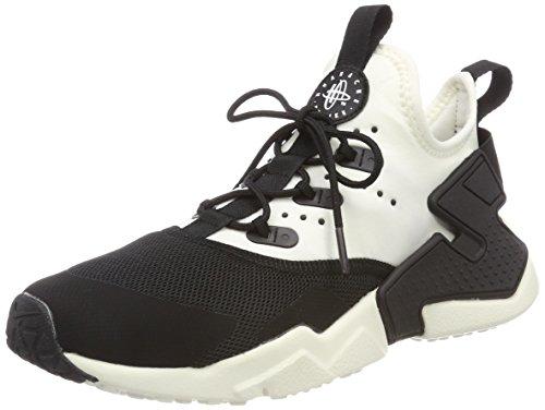 Nike Jungen Huarache Run Drift (GS) Laufschuhe, Mehrfarbig (Black/Sail-White 002), 36.5 EU (Huarache, Jungs Schuhe)