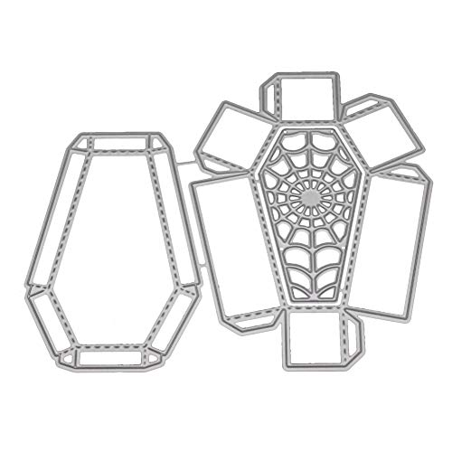 Paper Flower Brads (Beginfu New Flower Heart Metal Cutting Dies Stencils DIY Scrapbooking Album Paper Card Messerform Blume, Blume Herz Metall Stanzformen Papierkarte Embossing Machine Prägeschablonen)