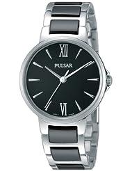 Pulsar Damen-Armbanduhr XS Modern Analog Quarz Keramik PH8077X1