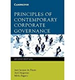 [(Principles of Contemporary Corporate Governance)] [ By (author) Jean Du Plessis, By (author) Mirko Bagaric, By (author) Anil Hargovan ] [June, 2014]