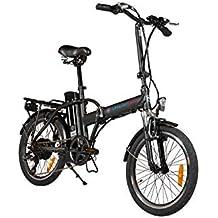 Simple Bike Bicicleta eléctrica Negro Plegable ...