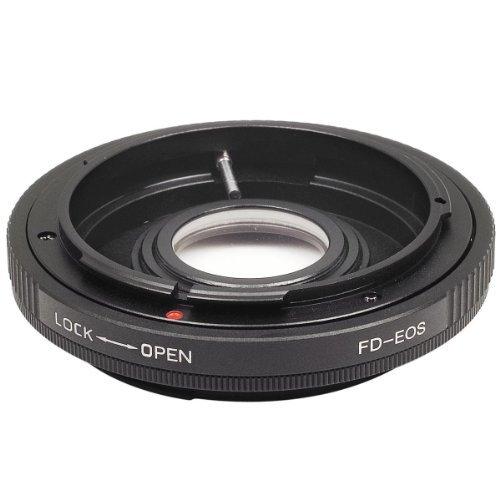 Pixtic - Anillos Adapters Canon FD FL adaptador a EF AF Confirm Nuevo EOS 1100D 1000D 600D 500D 550D 50D 7D 450D 40D 5DII