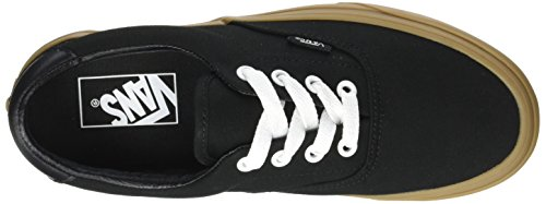 Vans Era 59 Canvas Gum, Sneaker Unisex-Adulto Nero (Canvas Gum/ Black/light Gum)