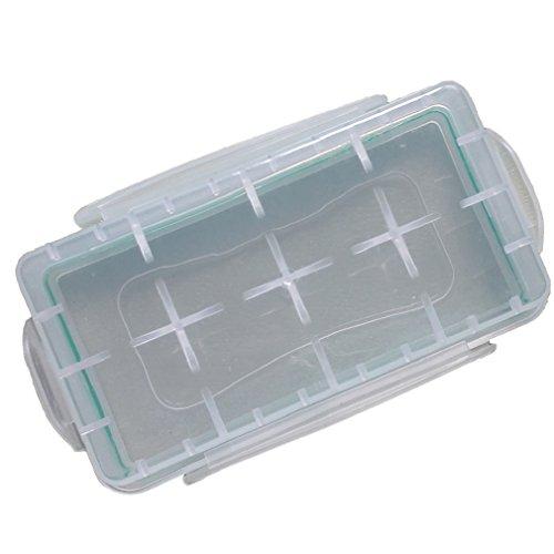 Tonsee 3pcs wasserdicht staubdicht Batterie Kartonhalter Aufbewahrungsbox für 18650 CR123A 16340