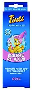 Tinti Mousse de Bain Rose