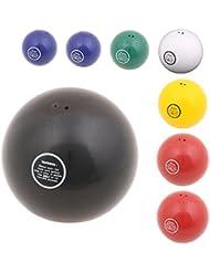 Vinex - Lanzamiento de peso – bola de acero para el entrenamiento – 1,00 kg – 85 mm, color azul