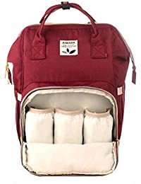 64f1beb050d2 Frabble8 Aimama Waterproof Multifunctional Maternity Nappy Diaper Travel Bag  for Mothers Baby Care Messenger Tote Backpack for Child…