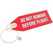 Maletín colgante Do Not Remove Before Flight (Rojo)