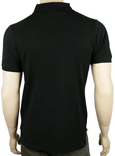 Herren Ralph Lauren Poloshirt Polohemd Polo Custom Fit Mesh Shirt schwarz  kurzarm small kleiner pony Reiter