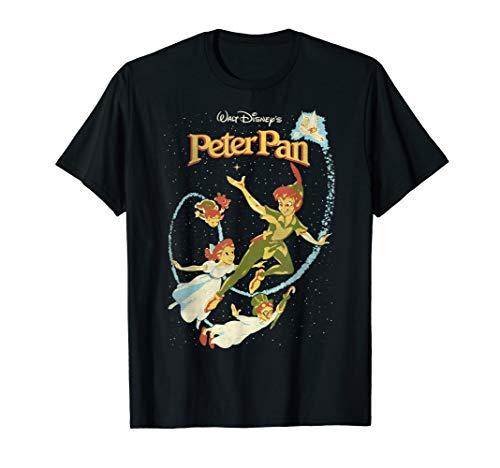 Disney Peter Pan Darling Flight Vintage Graphic T-Shirt - Shirt Disney Pan Peter