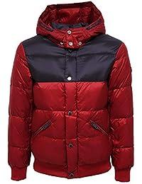 Armani 7988Y Piumino Bimbo Dark Boy Red/Blue Emporio Jacket