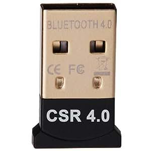 JSG Accessories® Nano Bluetooth Dongle CSR 4.0 Compatible with Window XP, Vista, Windows 7 (32 & 64-Bit), Windows 8 (32 & 64-Bit)