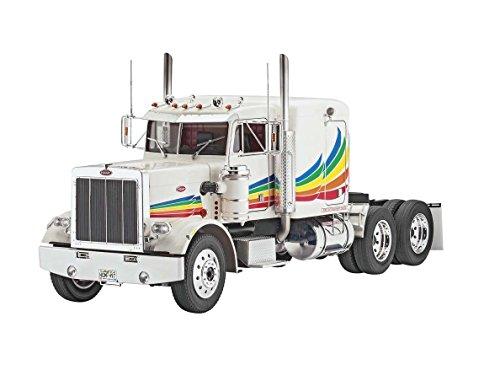 Revell Modellbausatz LKW 1:16 - Peterbilt 359 Conventional im Maßstab 1:16, Level 5, originalgetreue Nachbildung mit vielen Details, Lastwagen, Truck, - Truck Usa