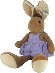 Plush 20 Inch Stuffed Bunny Rabbit in Purple by Gitzy by Beverly Hills Teddy Bear Co.