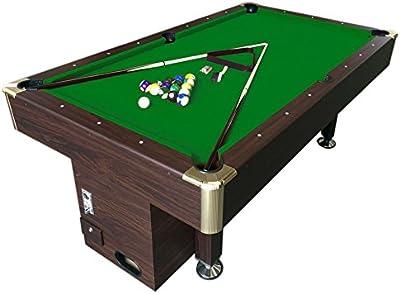 Mesa de billar juegos de billar pool 8 ft carambola con monedero electrónico Zeus - Nuevo embalado! Envio Gratis! Medición de 220 x 110 cm