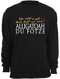 Kleidung & Accessoires Alligatoah Sweater Logo Brust