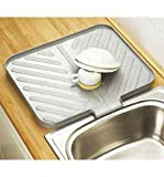 Space Saving Silver Worktop Drainer Tray
