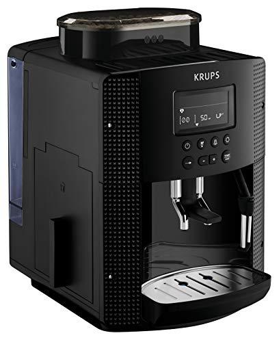 Krups Roma EA81M8 Kaffeevollautomat, 1,7 l, 3 Temperaturstufen, 3 Mahlwerkstexturen, Schwarz