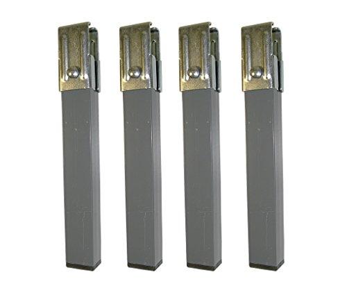 Imex El Zorro 81426 - Juego 4 Patas Somier, Metal, 270 x 40 x 30 mm