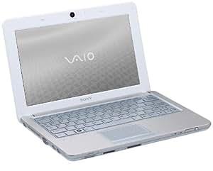 "Sony Vaio VPC-W12M1E/W Netbook 10,1"" Intel Atom N280 160 Go RAM 1024 Mo Windows 7 Jusqu'à 7h30 d'utilisation Blanc"
