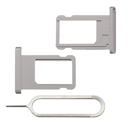 BisLinks®® Für iPad Air 2 Metal SIM Karte Tablett Halter Slot Grau + Ejector Pin 6th Gen