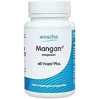 woscha Mangan energetisiert 60 veg. Kapseln (vegan), 23 g