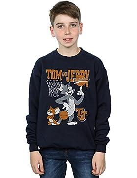 Tom and Jerry Niños Spinning Basketball Camisa De Entrenamiento