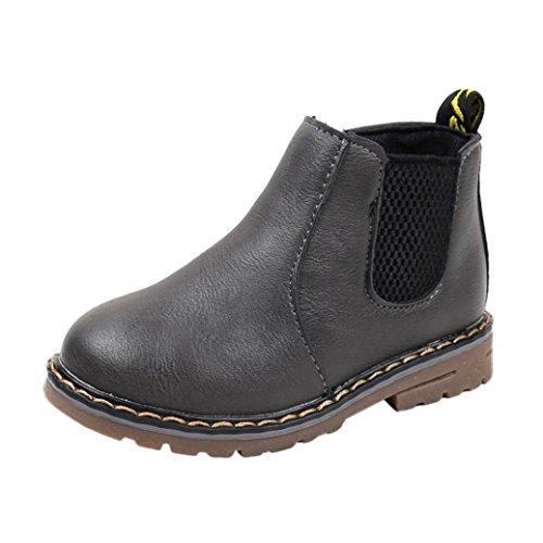 Stiefel für Kinder, OYSOHE Art- und Weisejungen-Mädchen-Martin-Turnschuh-Kind-Baby-beiläufige Schuhe (29, (T Kostüme Box Die)