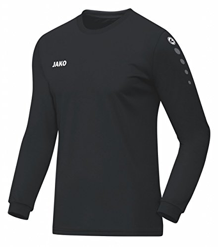 JAKO Trikot Team Langarm, Größe:152, Farbe:schwarz