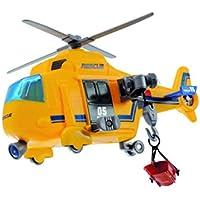Dickie  de Juguete 203302003–Action Series helicóptero de Rescate