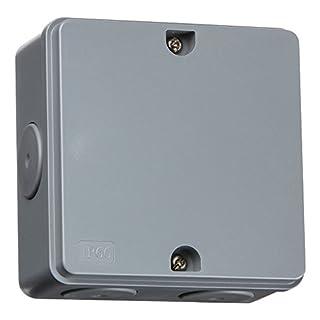 Knightsbridge JBAV005 IP66 30A Junction Box, Grey
