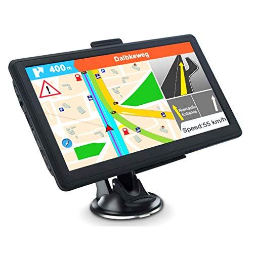 GPS Sistema de Navegación, 5inch 4GB 128MB Coche Camión Navigator Dispositivo -...