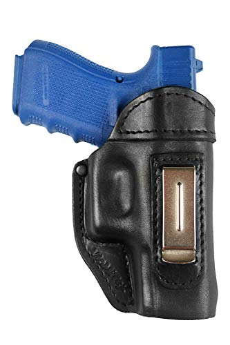 VlaMiTex IWB 4 Leder Schwarz für Glock 17 22 31 37 -