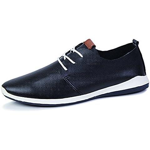 Estate scarpe uomo casual/Scarpa moda/a punta/Vintage British