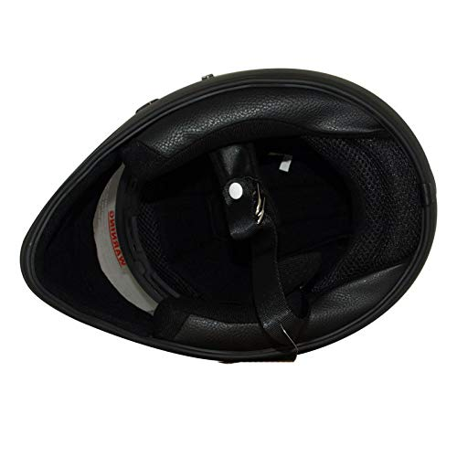LEAGUE&CO Motorrad Helmets Helm Motorradhelm Helmets Alien Integralhelm Visier Offroad Racing Motocross für Honda Yamaha Suzuki Kawasaki Bandit Helm (M, Schwarz (Getönte)) - 4