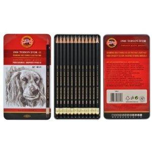 koh-i-noor-toison-dor-matita-in-grafite-8b-2h-confezione-da-12