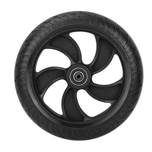 FBGood 8 Zoll Elektroroller Ersatz Reifen, Verschleißfest Anti-Rutsch Schnelle Geschwindigkeit Scooter Hinterrad Reifen für Kugoo Elektroroller Skateboard (Schwarz) -