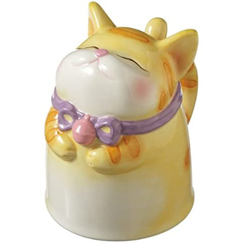 Midwest CBK - Topsy Turvy Cat Ceramic Mug by Midwest
