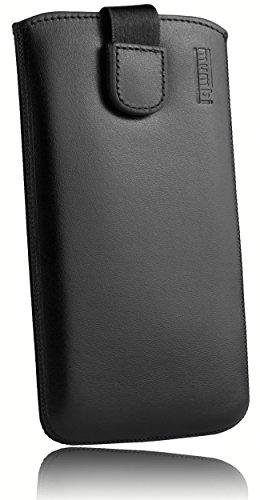 mumbi ECHT Ledertasche Samsung Galaxy A5 (2016) Tasche Leder Etui - Lasche mit Rückzugfunktion Ausziehhilfe (nicht für das Galaxy A5 - A500F von 2015)