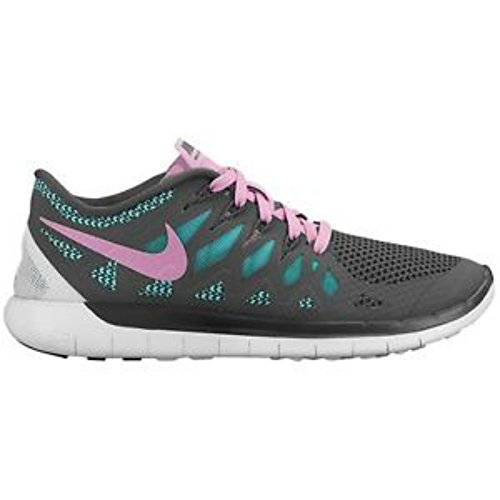 s Free 5.0 2014 Chaussures de course Grey/ Pink