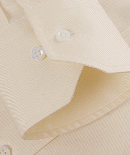 Stenstroms Hommes chemise simple Crème Crème